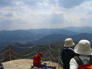 物見岩からの眺め