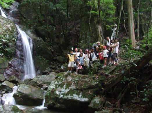 観音の滝鑑賞