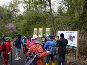 愛鳥林から大原湖畔の約7kmを歩きます