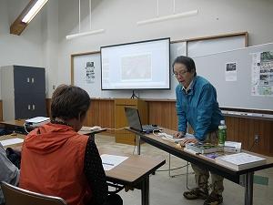 講師は森の案内人川口泰史さんです