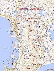 串山連峰地図