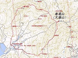 大海山地図